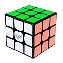 Cubi magici IQ Cube Yongjun Tre strati Velocità Smooth Cube Velocità Magic Cube di puzzle Arcobaleno / Nero / Bianco ABS