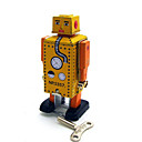 Novelty Toy / puzzel Toy / educatief speelgoed / Opwindspeelgoed Novelty Toy / / Vierkant / Krijger / Robot Metaal Wit / KameelVoor