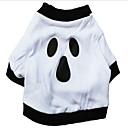 honden T-shirt / Denim jacks Wit Hondenkleding Winter Vampieren Halloween /