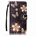 For Sony Case Card Holder / Wallet / with Stand / Pattern Case Full Body Case Flower Hard PU Leather Sony Sony Xperia XA / Sony Xperia E5