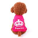 Cat / Dog Shirt / T-Shirt Rose Dog Clothes Summer / Spring/Fall Tiaras & Crowns