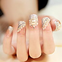 24 noiva manicure unhas adesivos falsa produtos para unhas de manicura