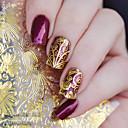 1 Autocollant d'art de clou Autocollants 3D pour ongles Maquillage cosmétique Nail Art Design