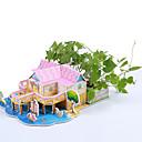 Jigsaw Puzzles DIY KIT 3D Puzzles Building Blocks DIY Toys Architecture Natural Wood