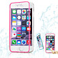 Thin Transparent Clamshell Triple Don't Flip Touch Screen TPU Phone Case for iPhone 6s 6 Plus
