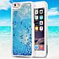 Transparent Fashion Dynamic Liquid Glitter Colorful Paillette Sand Quicksand Back Case Cover For iPhone 6 Plus/6S Plus