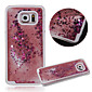 KARZEA™Dual Layer Plastic 3D Flowing Liquid Luxury Bling Glitter Stars Case for Samsung S6 G9200