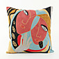 Abstract Art Pattern Cotton Pillowcase  Home Decor pillow Cover (18*18inch)