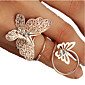 Midi Rings Rhinestone Alloy Fashion Golden Jewelry Party Daily 1pc